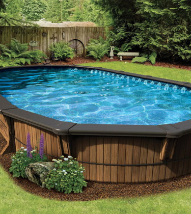 Semi Inground Pools Image