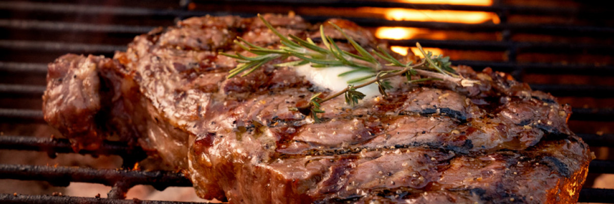 The perfect steak on BBQ