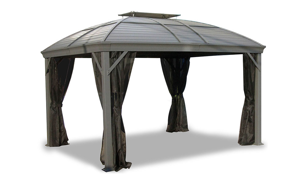 Roof material of the gazebos