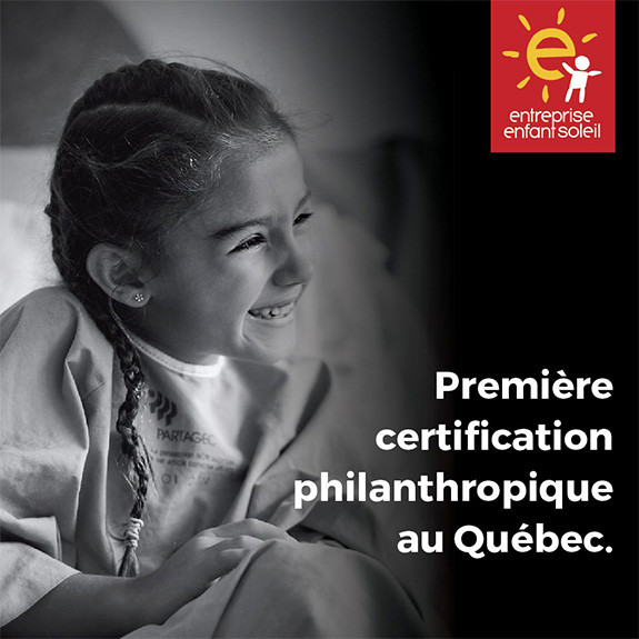 Club Piscine Super Fitness is becoming an Entreprise Enfant Soleil!
