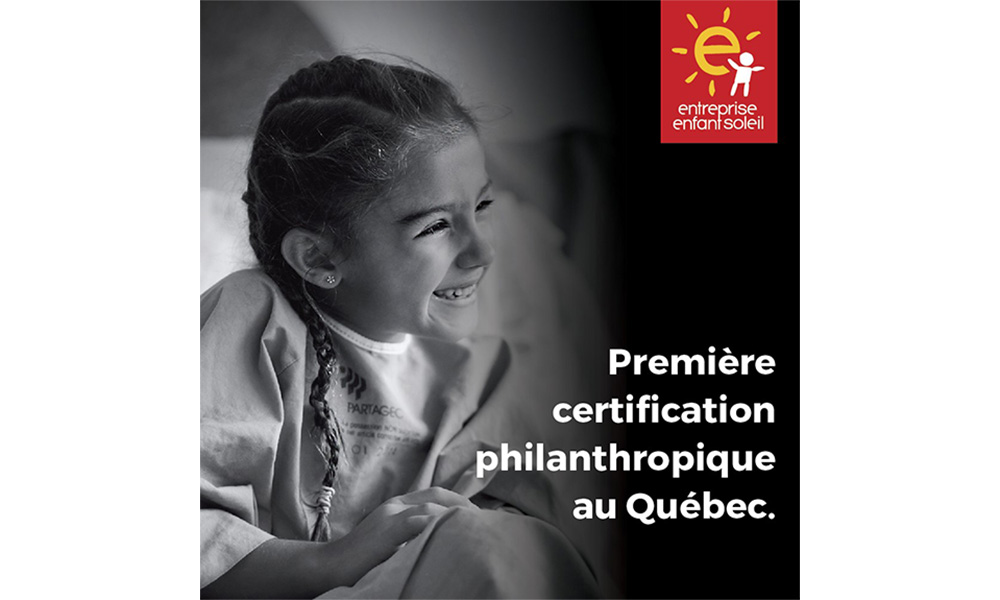 First philanthropic certification in Quebec