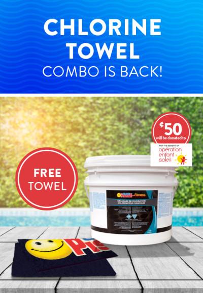 Chlorine towel combo is back!