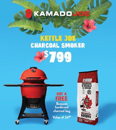 Free charcoal bag